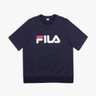 FILA 로고 반팔 스웨트셔츠 썸네일 이미지 1