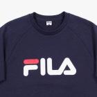FILA 로고 반팔 스웨트셔츠 썸네일 이미지 3