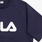 FILA 로고 반팔 스웨트셔츠 썸네일 이미지 4