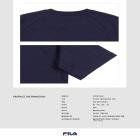 FILA 로고 반팔 스웨트셔츠 썸네일 이미지 7